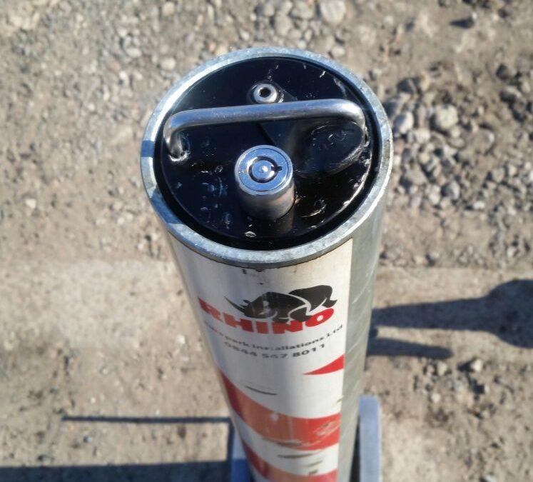 Rhino Post Broken Lock