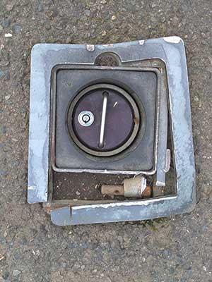 Security post repair